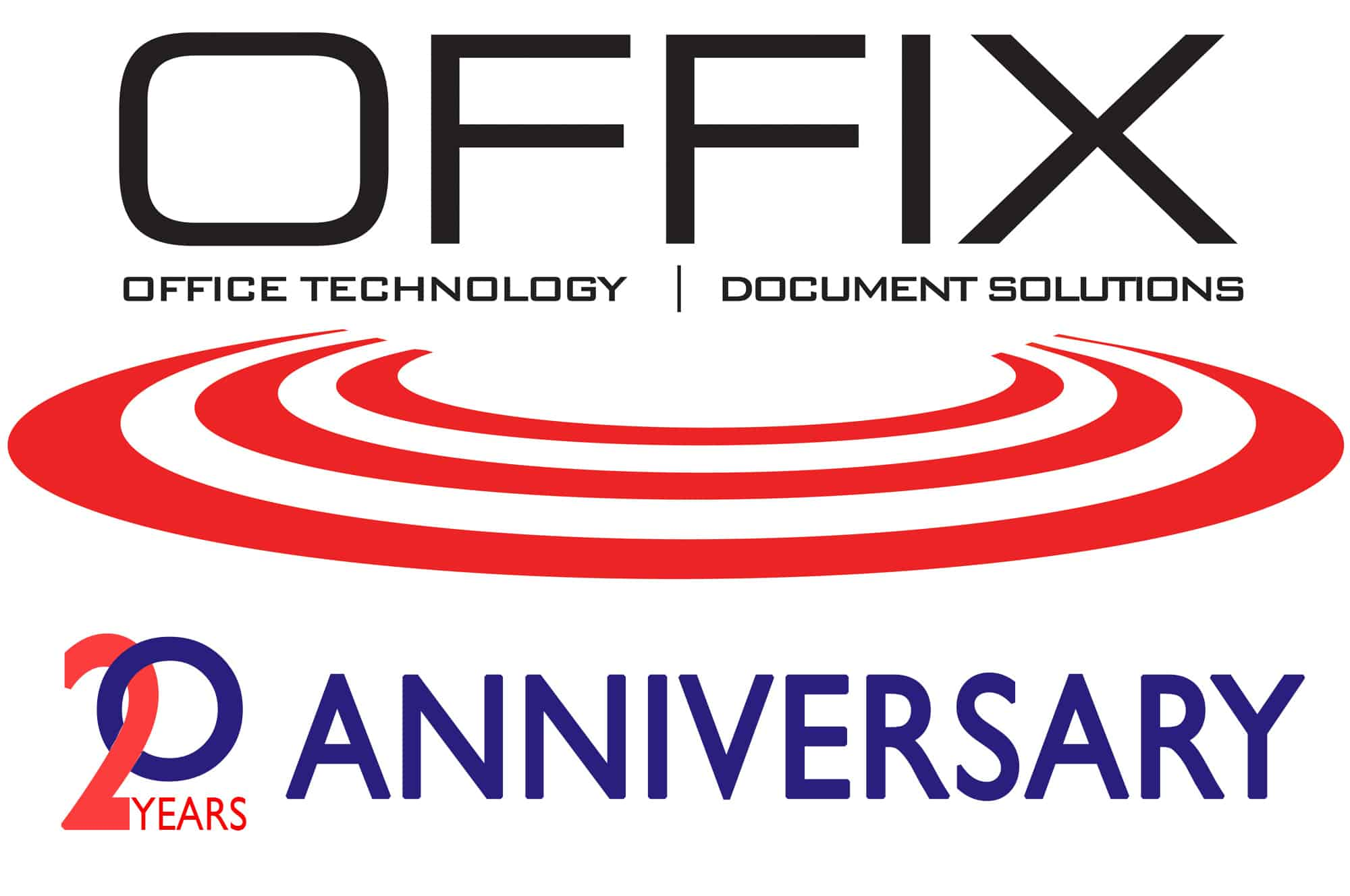 Offix Logo - 20 Years Anniversary
