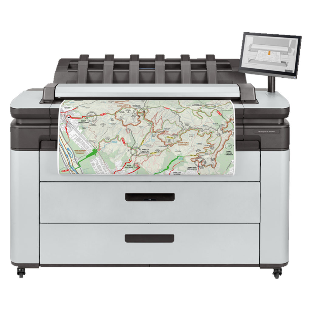 HP PageWide XL large format printer