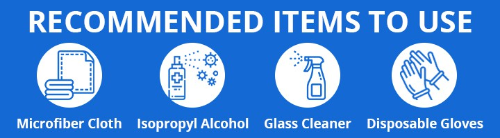 Cleaning Equipment Guidelines Recommended Items