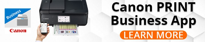 Contactless Printing With Canon PRINT Business App