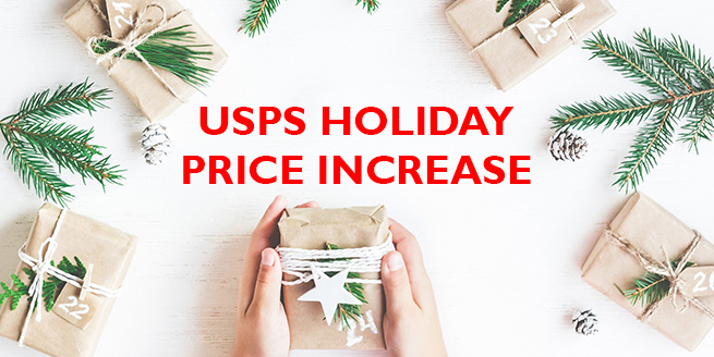 USPS Temporary Price Increase